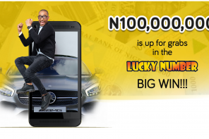 WIN UP TO N100,000,000 IN THE LUCKY NUMBER GAMES ON YOUR MTN LINE