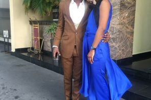 #BBNaija: Evicted housemates, Anto and Lolu serving pre-wedding photos goals