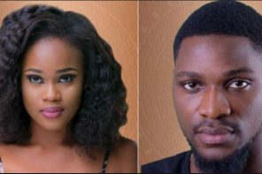 BBNaija: Does It Look Like Tobi and Cee-C  are Getting Back Together???