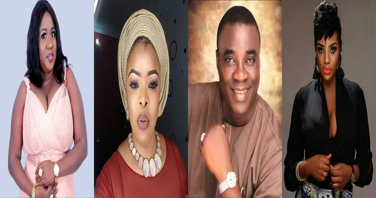 Image result for Dayo Amusa, Funke Adesiyan, Bisola Badmus, others at war over Kwam 1