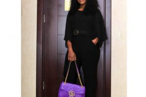 Cee-C steps out looking posh with her Gucci bag in Lagos (Photos)
