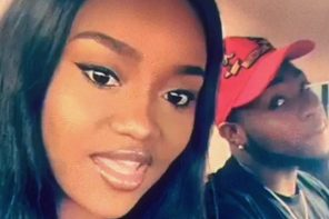 "Davido calls his girlfriend ""his wife"" in new post on Snapchat"