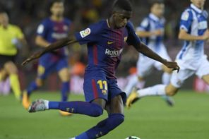 Fans Hail Barcelona Forward, Ousmane Dembele, For Stepping Up In Messi's Absence
