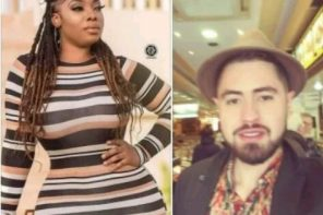 """I'll buy you the world,"" – Colombian rapper professes undying love for Ghanaian actress Moesha Bodoung"