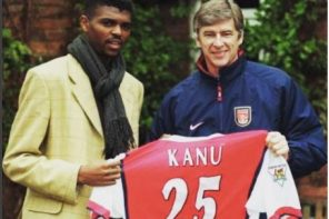 Kanu Nwankwo Reacts To Arsène Wenger Resignation With Emotional Message