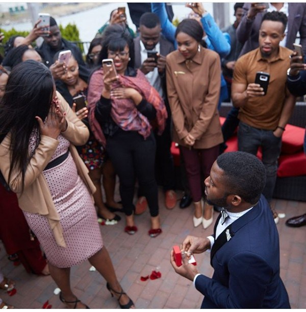 a man proposes early in the relationship