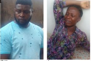 Mother videos her three-year-old twin boys having sex in Lagos