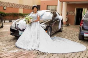 Nurse Busola and Dr Israel's exciting wedding pictures