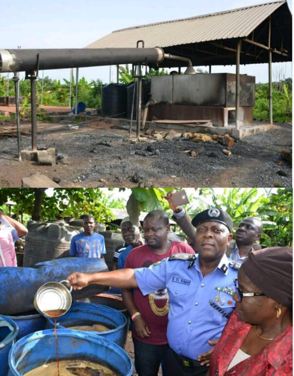 Illegal Malt Brewery Found In Lagos, Five Arrested