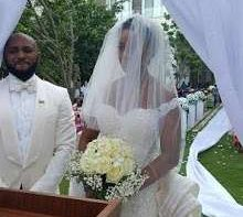 See photos from white wedding of Atiku Abubakar's son in Ghana