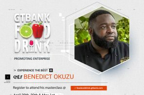 CHEF BENEDICT IS BRINGING HIS ITALIAN ART TO THE 2018 GTBank FOOD AND DRINK FAIR