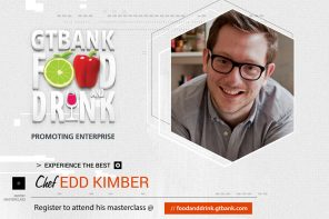 Baking Superstar Edd Kimber is Coming to The 2018 GTBank Food and Drink Fair