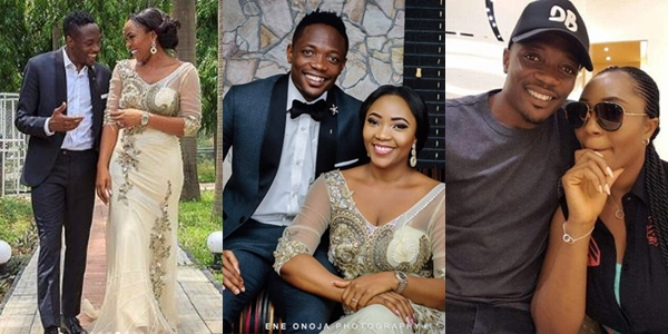 Image result for Nigerian Striker Ahmed Musa and wife