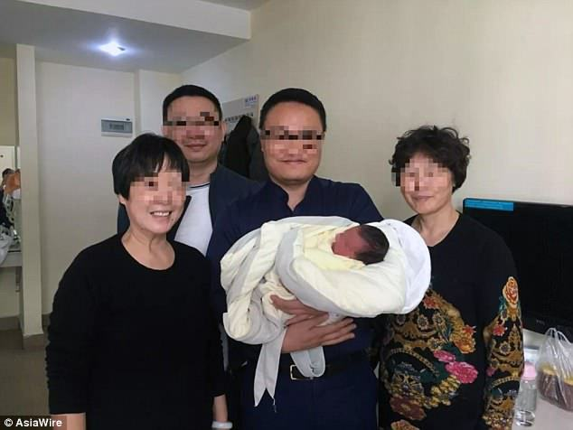 Baby in China born 4 years after parents died in auto crash