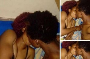 To prove the depth of their love, Nigerian couple share in-bed photos on Facebook