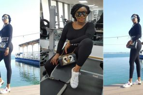"""Haters Will Say I Didn't Go To Gym"" – Ini Edo says as she shows off her figure"