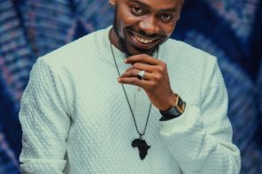 Adekunle Gold Shares Loved Up Photo With A Mystery Lady When He Was A Small Boy