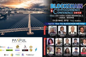 Blockchain & Digital Currency Conference 2018, holds in Lagos, Nigeria.