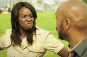 See How A Nigerian Man Reacted after A Lady Slapped Him on ATM queue