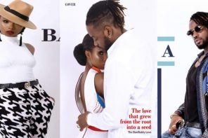 Bambam & Teddy-A Look Adorable On The Cover Of Celebrity Magazine (Photos)