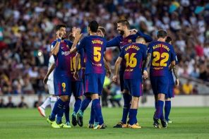 Barcelona vs Alaves; Captain Messi's Milestone Goal Set Up Win For Barcelona