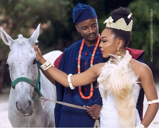BBNaija Stars Leo And Ifu ennada As A Couple In This Adorable Photoshoot