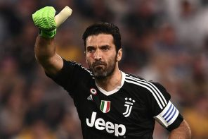 Buffon Bids Tearful Farewell To Juve After 656 Games