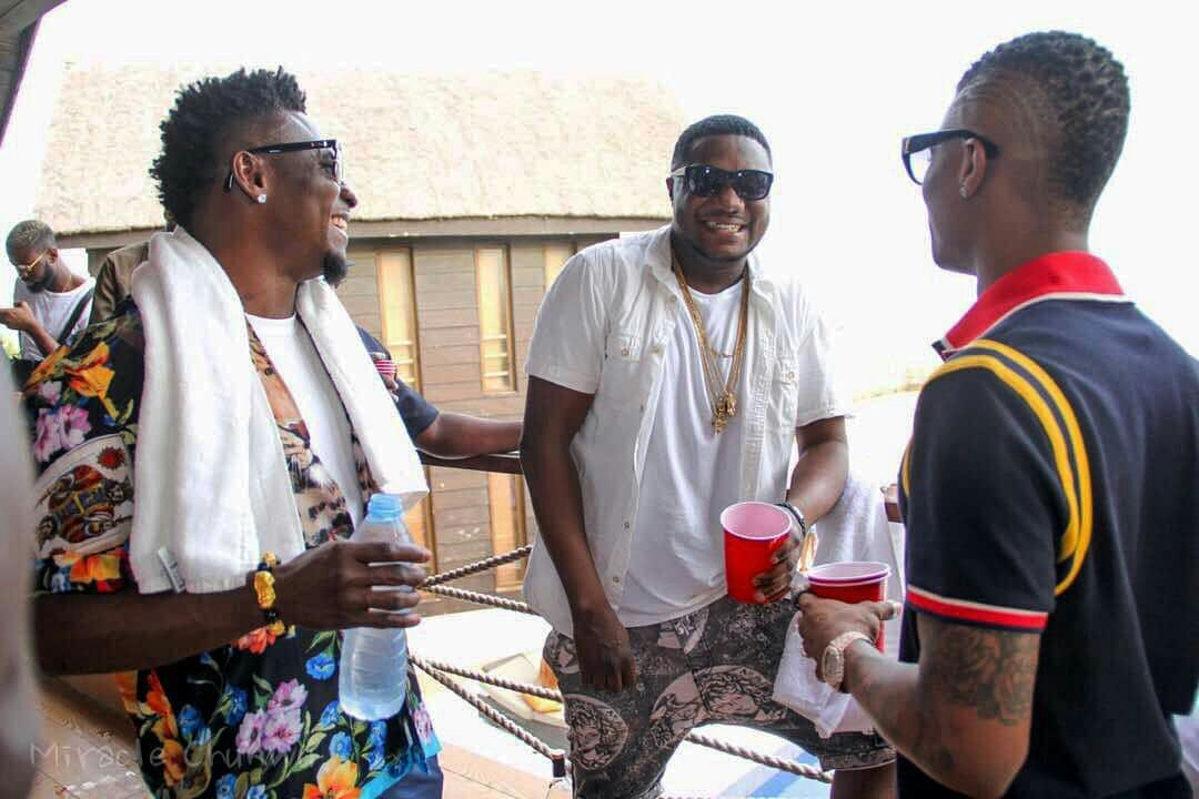 CDQ Shares Pictures From His 33rd Birthday. Wizkid, Obafemi Martins, Others Spotted