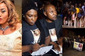 Candlelight procession for late Aisha Abimbola aka Omoge Campus (Photos)