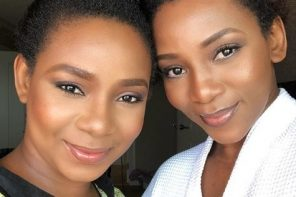 Genevieve Nnaji reacts after she was tagged a liar over sister's picture