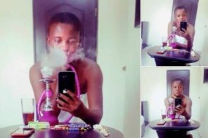 """I Am Not A Wife Material, I Am Not A Feminist"" – Nigerian Lady, As She Smokes"