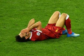Liverpool forward, Mohammed Salah ruled out of world cup