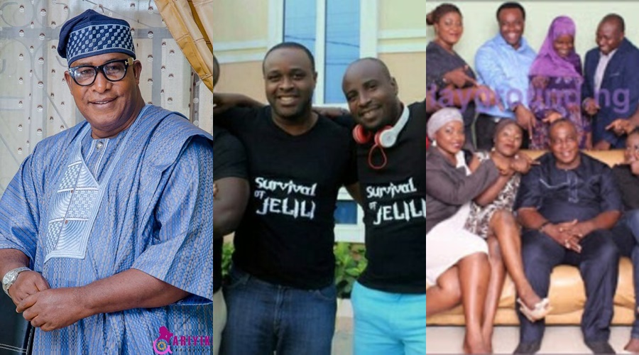 "Successful Sons Of Famous Yoruba Actor Adebayo Salami ""Oga Bello"""