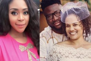 Mimi Orjiekwe's ex husband marriage to his new American wife allegedly crashes