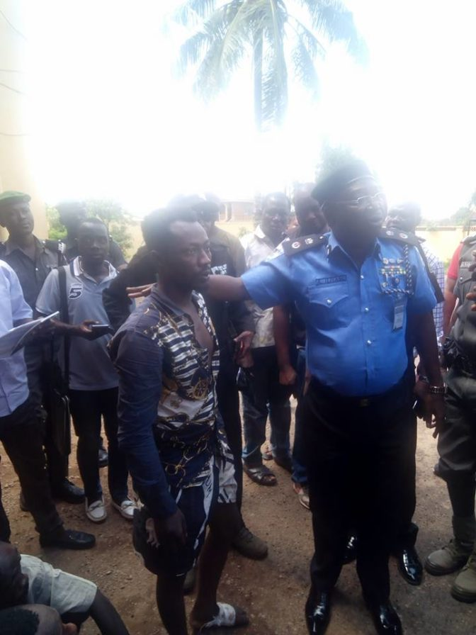 Most Dreaded And Notorious Aiye Cultist Caught And Paraded
