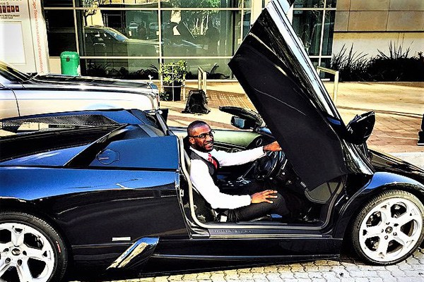 Mr Auto Sales >> 'Mr P' Peter Okoye's car garage will leave you in awe ...