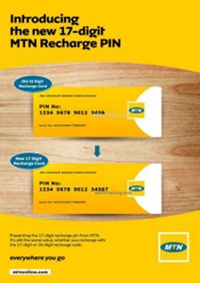 MTN Introduces 17-Digit MTN Recharge PIN - Information Nigeria