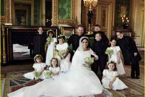 Prince Harry & Meghan Markle's Official Wedding Portaits Revealed!