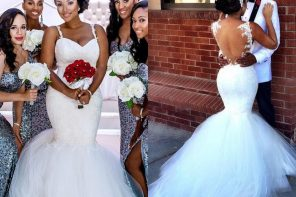 See the real reason why brides wear white wedding dresses in church