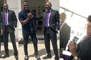 Tobi Bakre takes photos with his Billionaire dad