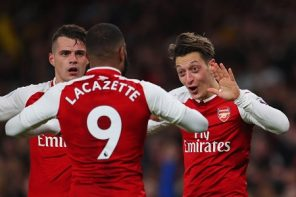 'Alexandre Lacazette is a hitman. No better word to qualify him' – Fans Hail Arsenal Striker, Lacazette, For Being The Difference Against Qarabag.