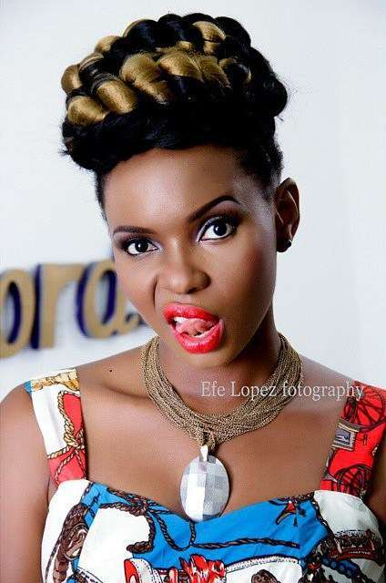 yemi alade harshly replies fan who told her not to provoke god after she made a motivational post on ig - Yemi Alade Shows Off Her Sexy Front In A New Picture(Picture)
