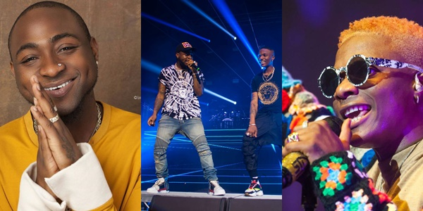 "You just dey start"" – Davido congratulates Wizkid on his upcoming 02"