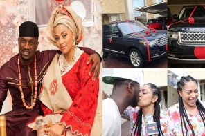 Peter Okoye reveals why he bought a Range Rover for his wife