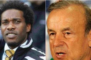 2018 World Cup: Gernot Rohr reacts to criticism from Okocha concerning his tactics
