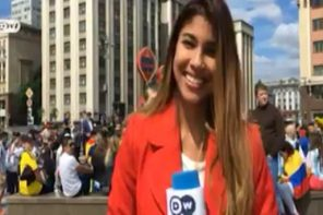 Female Reporter S*xually Assaulted During Live World Cup Broadcast In Russia (Video)