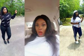 Nigerian lady electrocuted while charging her phone (Photos)