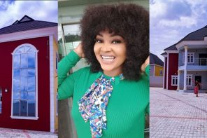 Nollywood Actress, Mercy Aigbe Acquires A New Mansion In Lagos