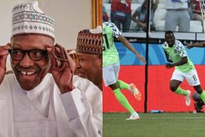 President Buhari congratulates Super Eagles over Iceland victory