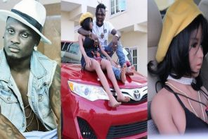 Popular artiste Mr Shaa buys a new 2013 Camry for his sex doll, Tontoh (Photos)